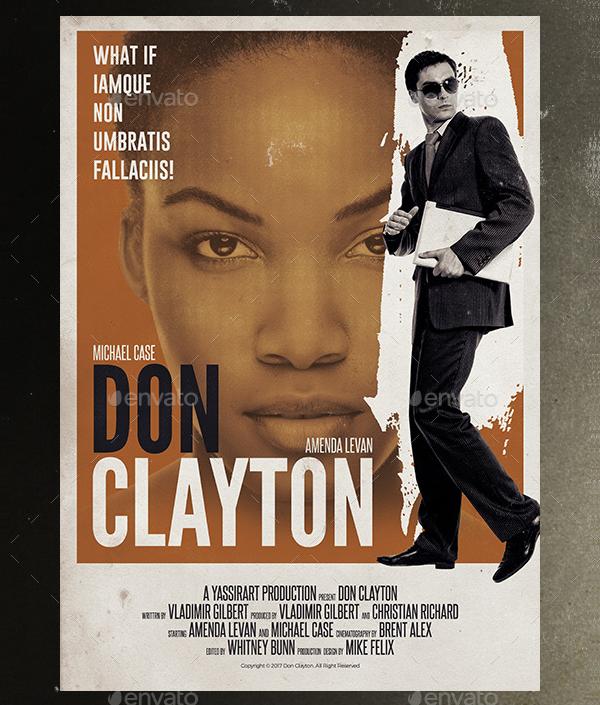 19 Film Poster Templates Free Premium Download