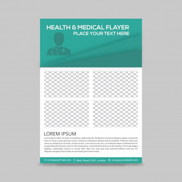 Free Health & Medical Flyer Template