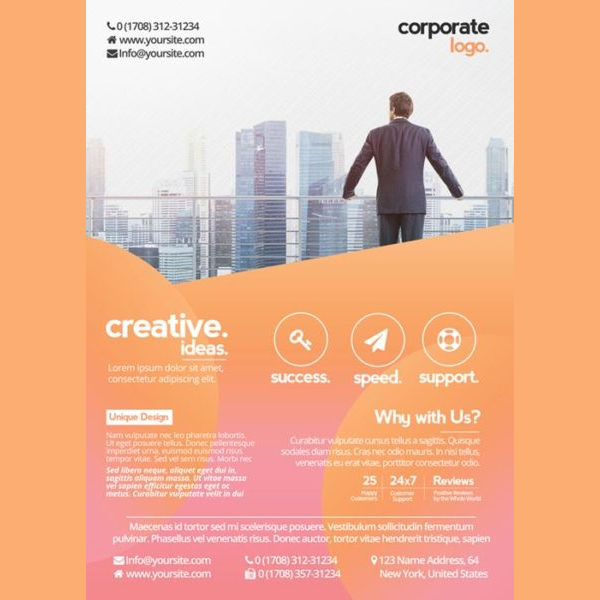 Free Health Business Psd Flyer