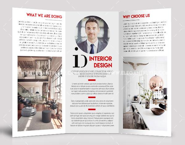 Free PSD Interior Design Brochure Templates