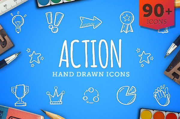 Hand Drawn Icons For Marketing