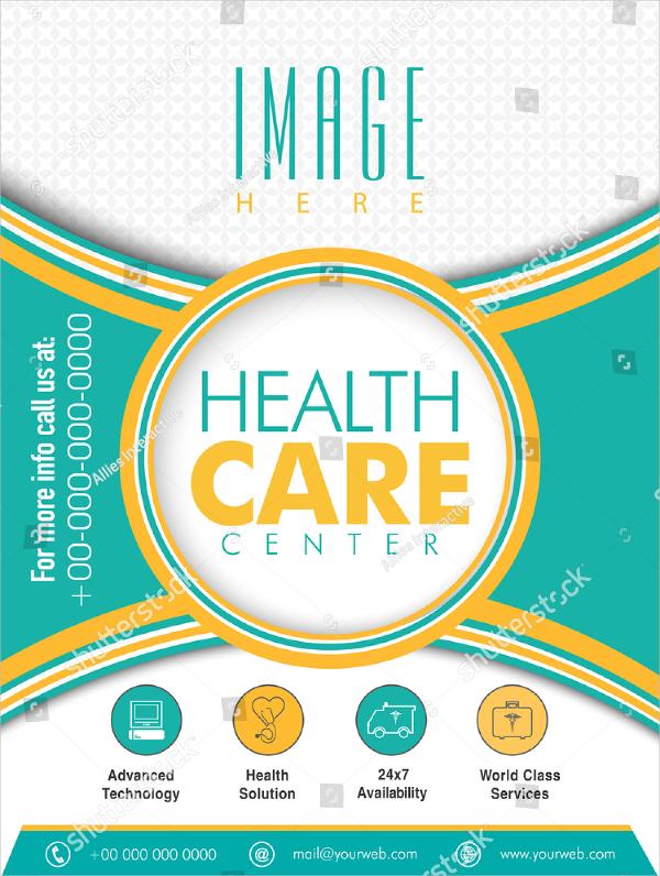 Health Care Presentation Flyer Template