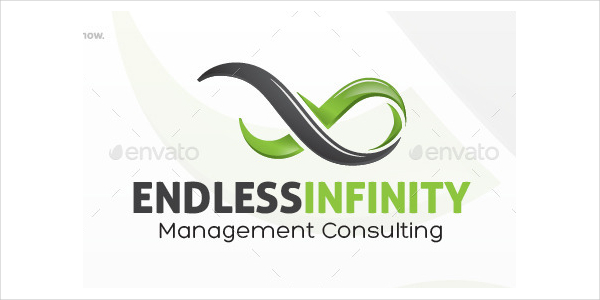 Institute Endless Infinity Logo Template