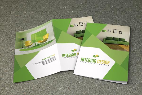 Interior Bifold Brochure Templates