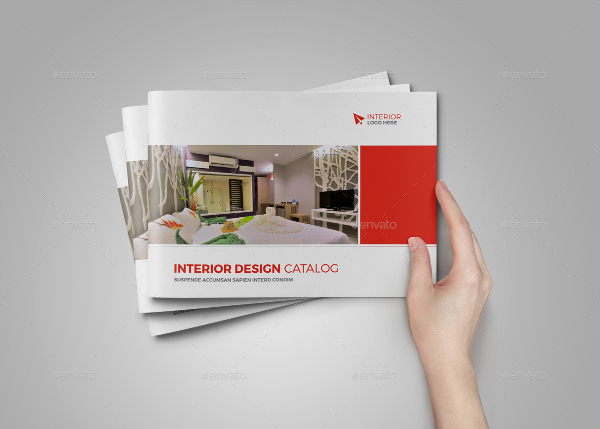 Interior Design Product Brochure Templates
