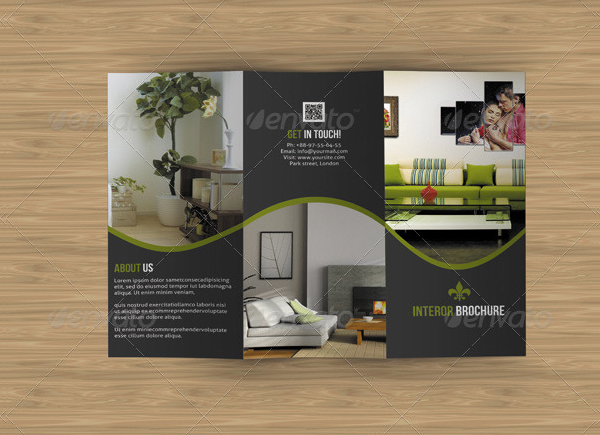 Interior Shop Brochure Template