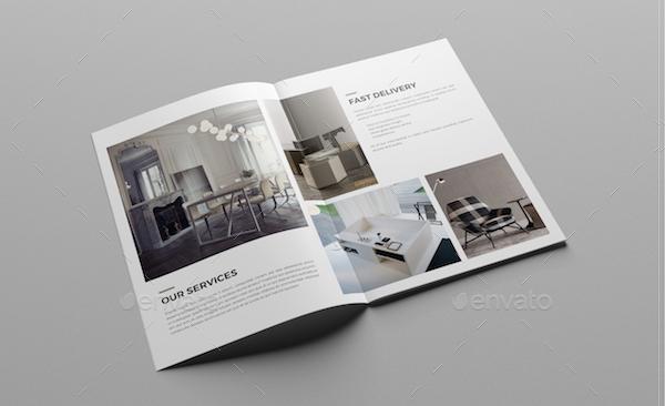 Design Interior Brochure Templates