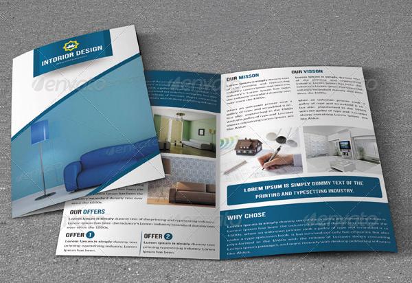 Interior Company PSD Brochure Templates