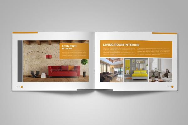 Interior Brochure In Design Templates