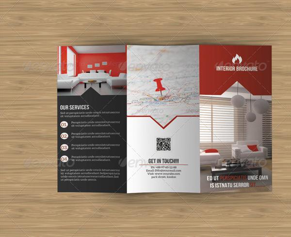 Simple Interior Brochure Design Templates
