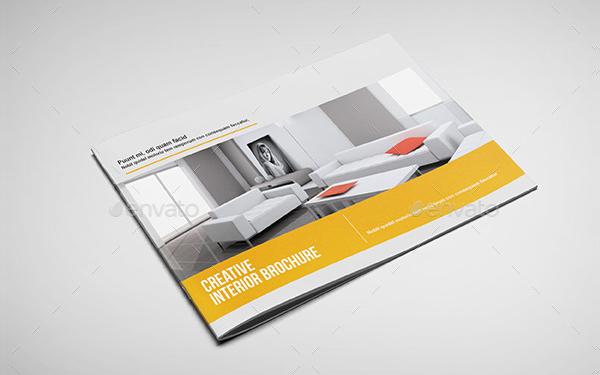 Interior Landscape Brochure Template