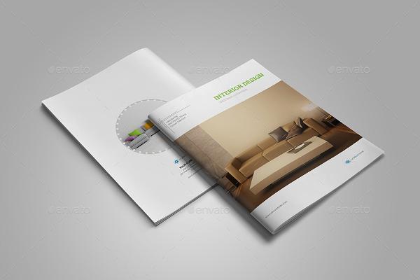 Interior Catalog Brochure Templates