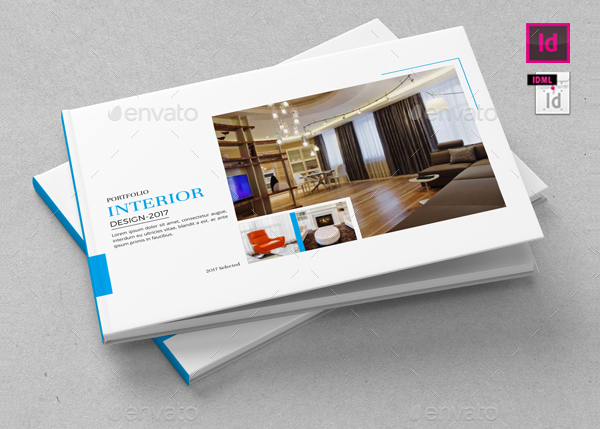Interior Portfolio Brochure Templates
