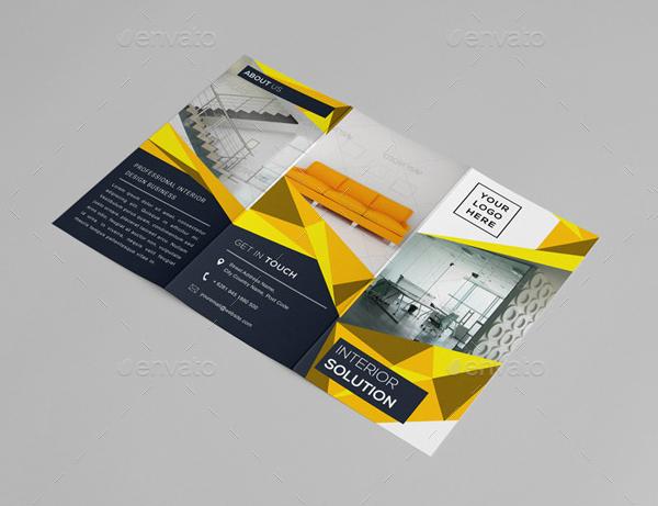 Interior Business Brochure Template