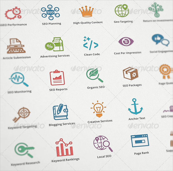 Best SEO & Internet Marketing Icons