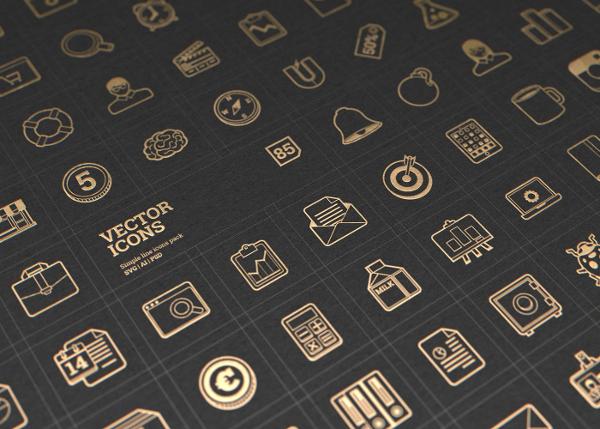 Attractive Marketing Vector Icons
