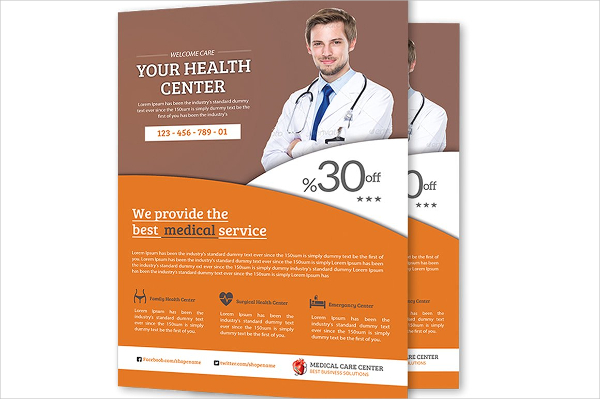 Medical Health Flyer Templates