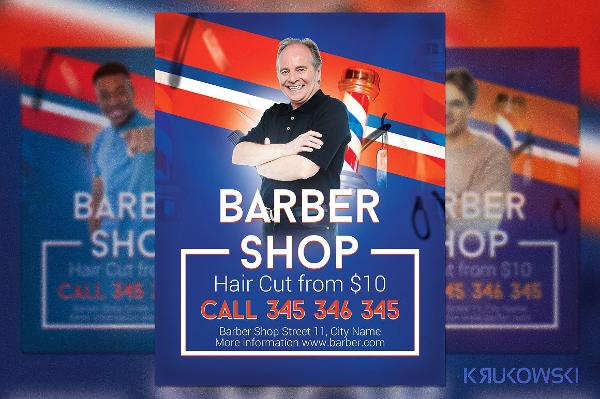 Modern Barber Shop Flyer