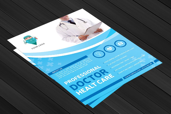Professional Doctor Health Flyer Templates