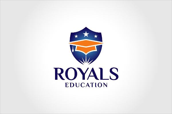 Royals Education Logo Template