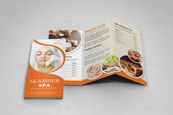 Exelent Salon Brochure Templates Component Resume Ideas Namanasa