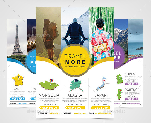 18+ Travel Agency Flyer Templates - Free & Premium Download