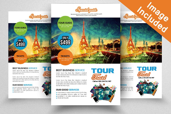 18  travel agency flyer templates