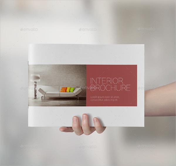 Classic Interior Brochure Template