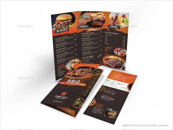 BBQ Restaurant Print Bundle