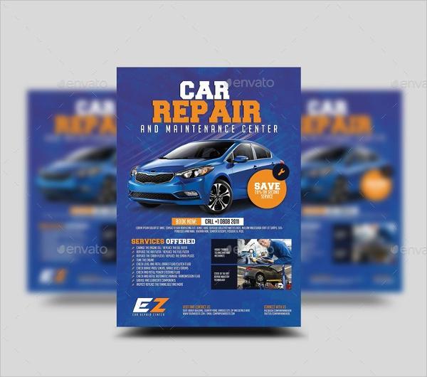 Best Car Repair Flyer Template