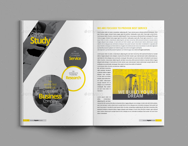 23 business magazine template free psd png vector downloads brand business magazine design template flashek Choice Image