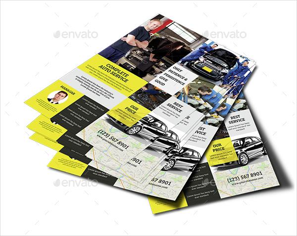 Car Repair Service Flyer Template