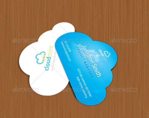 27 cloud business card templates free premium downloads cloud die cut business card reheart Gallery
