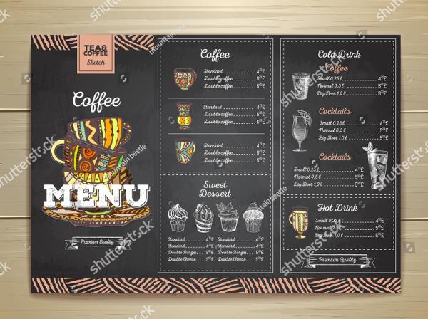 22 Coffee Menu Templates Free Psd Eps Illustrator Png Downloads