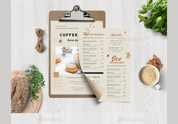 Best Coffee Menu Templates