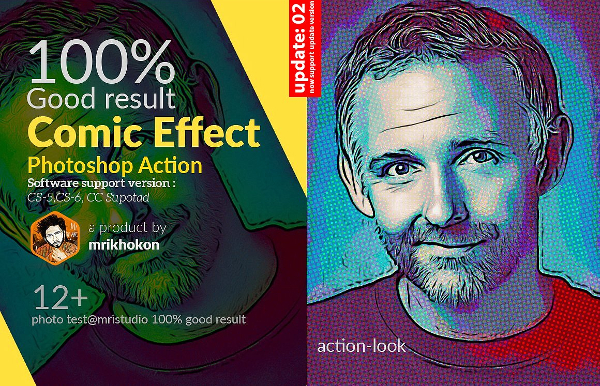 Comic Effect Photoshop Action