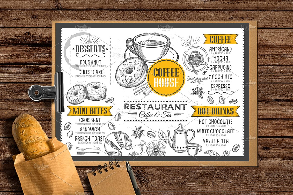Big Cafe Menu Template Bundle