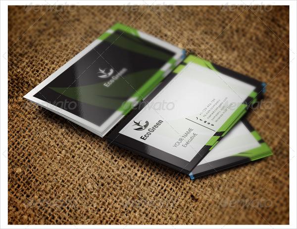 Eco Green Health Business Card Design