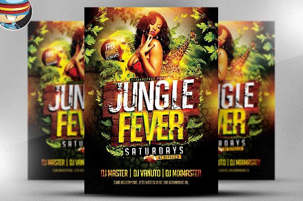 Jungle Design Flyer Template