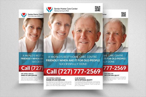 Home Care For Elderly Flyer