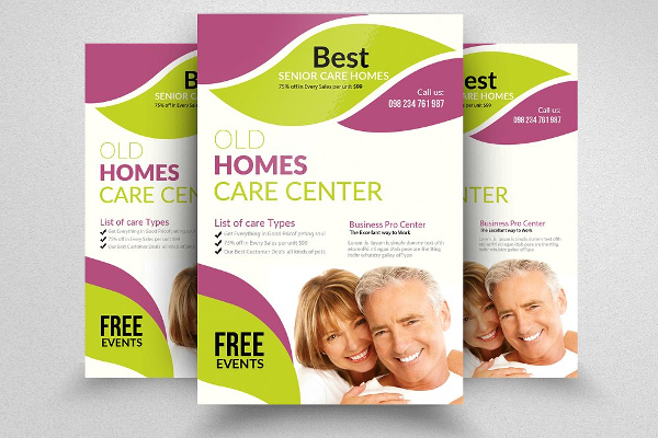 Senior Care Point Flyer Template