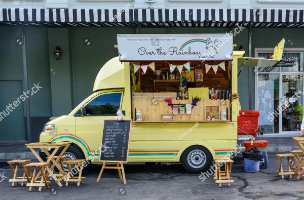 Thailand Food Truck Menu Template