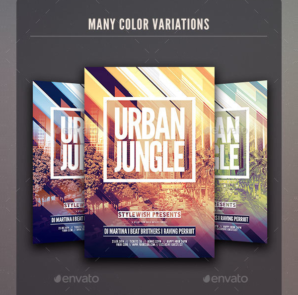 Urban Jungle Stylish Flyer