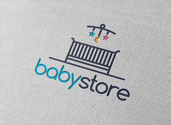 Attractive Baby Store Logo Template