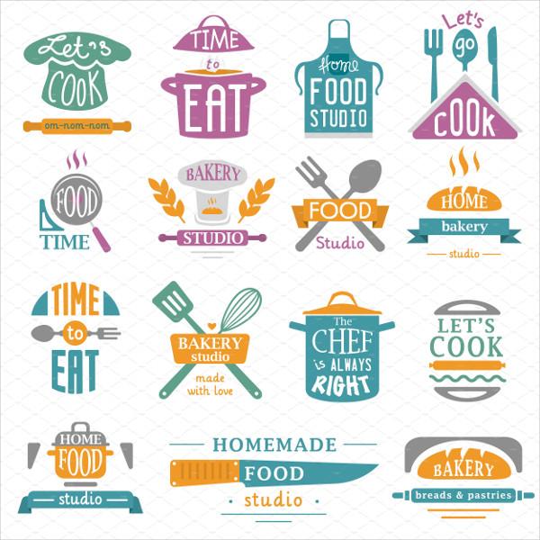 Bakery Shop Logos Vector
