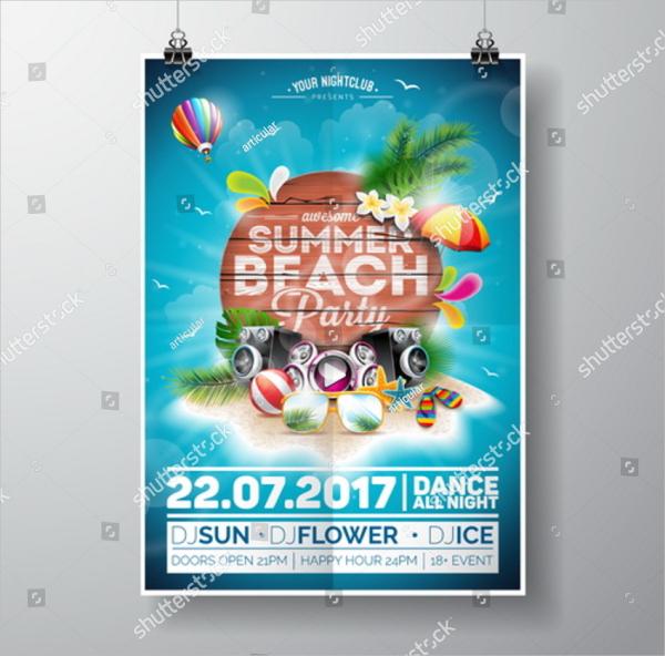 21 beach flyer templates free premium psd png vector downloads