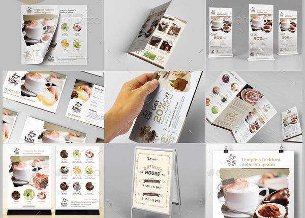 Coffee Menu Templates Bundle