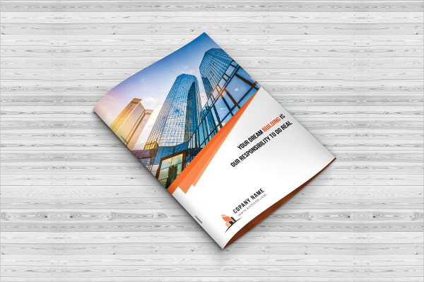 Construction Agency Brochure Template