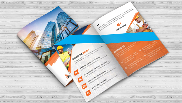 Construction Brochure Templates Free Premium Download - Construction brochure templates