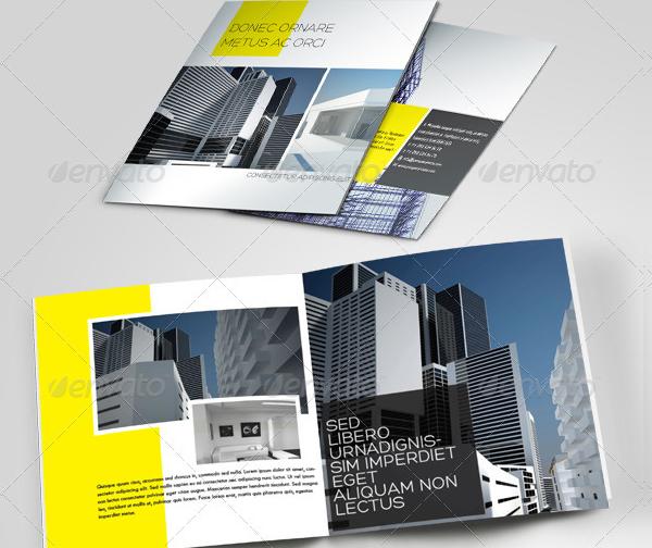 Construction Company Brochure Templates